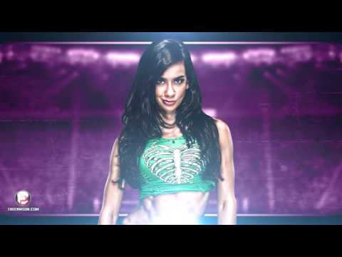 WWE: AJ Lee Theme Lets Light It Up HQ + Arena Effects