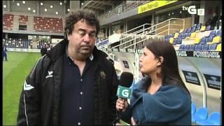 Bibiana Cabo entrevista a Tito Ramallo- Milo Abilleira y Bardal Pontevedra- Deportivo B