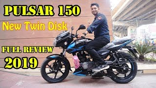 New Bajaj Pulsar 150 UG5 Twin Disk 2019 ????️ Full Review Price BD ???? All New Features In Bangladesh!!