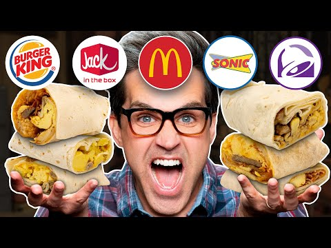 Blind Breakfast Burrito Taste Test