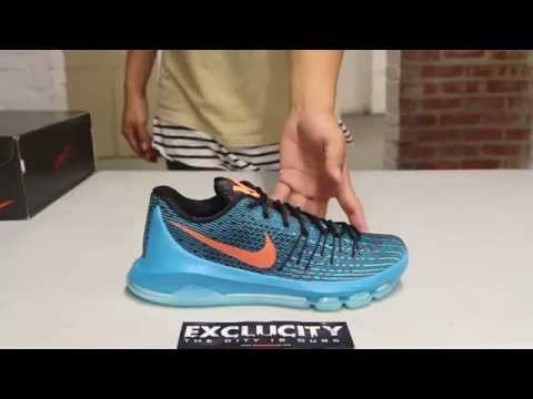 """KD 8 """"Road Game"""" Unboxing Video at Exclucity"""