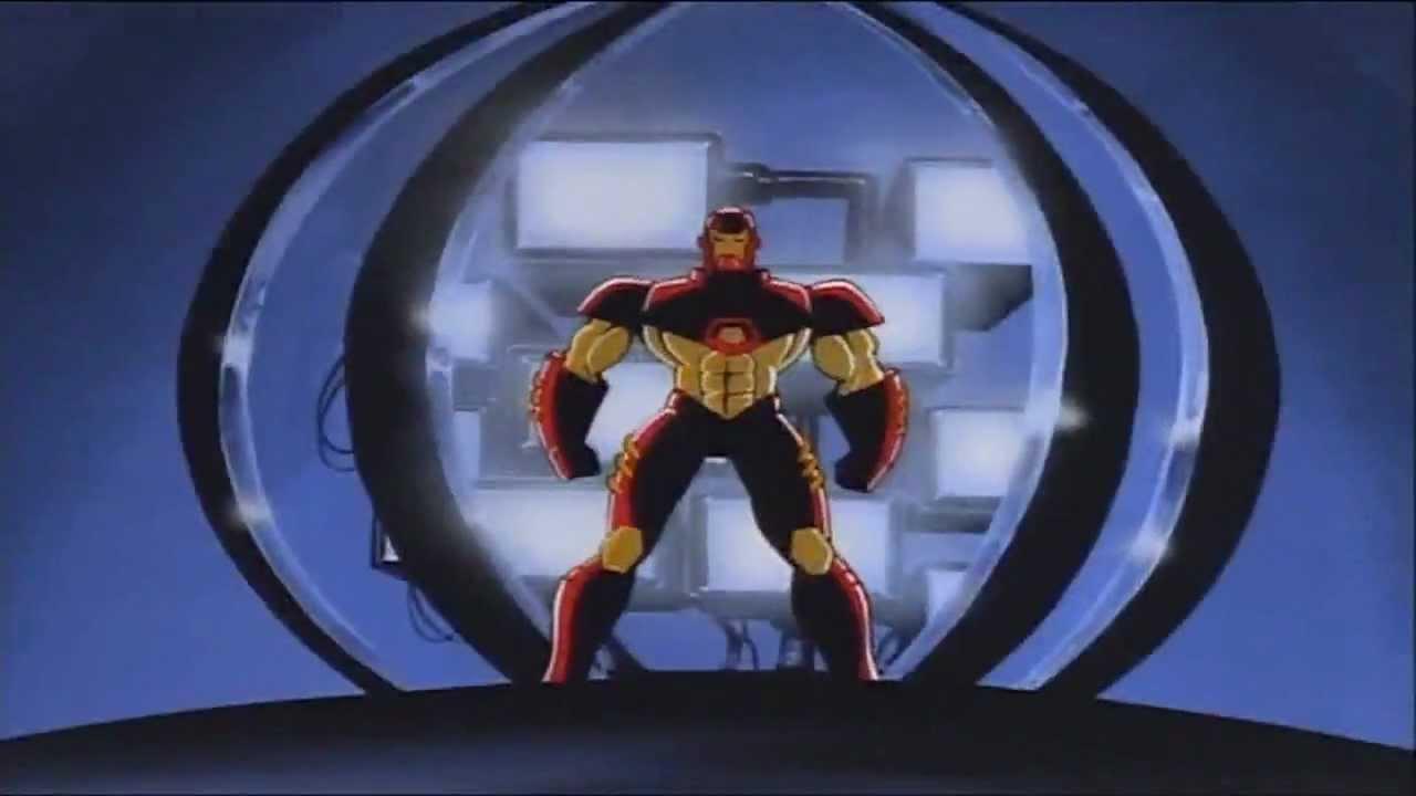 Iron man 1994 cartoon intro hd youtube - Iron man cartoon hd ...