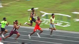 Jordan Barrow 100m Prelim Mark Trail Invitational 2018