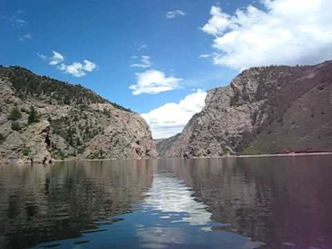 Morrow point reservoir in gunnison colorado in a fishing for Colorado out of state fishing license
