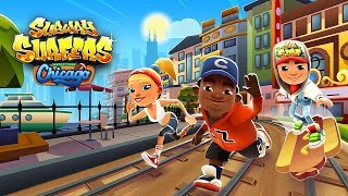 Subway Surfers 2018: Chicago - Samsung Galaxy S8+ Gameplay