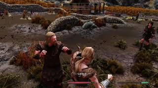Skyrim Special Edition Fist Fight