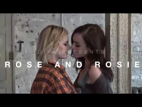 Rose & Rosie Diva Magazine Covershoot
