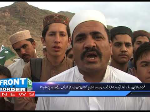 Khyber Landi Kotal Ajaro Funny Dance and  interview14th August