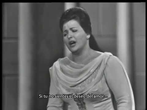"""Pilar Lorengar """"Ach Ich Fühl's, Es Ist Verschwunden!"""" La Flauta Mágica, Mozart"""