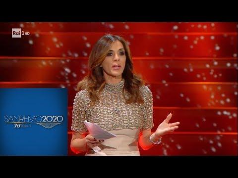 Sanremo 2020 - Il monologo di Emma D'Aquino sulla libertà di stampa