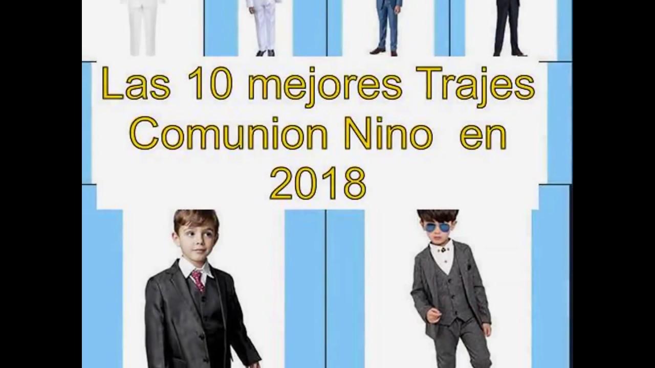 d7880d7ffeb26 Las 10 mejores Trajes Comunion Nino en 2018 - YouTube