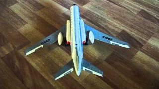 Іграшка 60-70-х р. р. Літак электрофицированный.