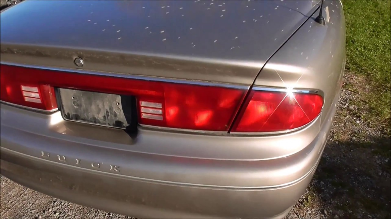 how to take off the tailight assembly on a 1997 2001 buick century [ 1280 x 720 Pixel ]