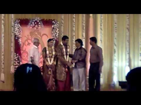 Prasanna Sneha Wedding Reception Chennai Youtube