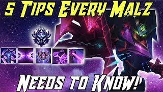 5 Tips Every Malzahar Needs to Know! League of Legends Malzahar Guide