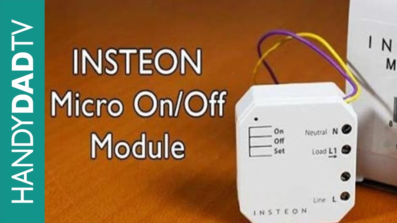 insteon micro on off module instant insteon ep 4 [ 1280 x 720 Pixel ]