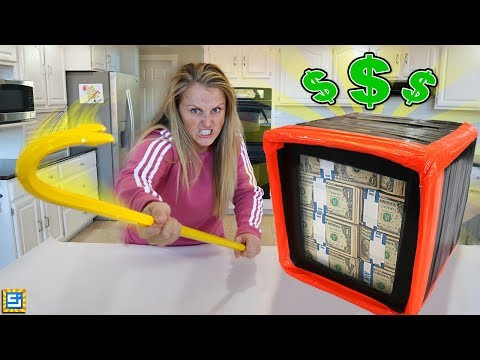 The Unbreakable Box Challenge Can She Win $1000 REAL CASH?!