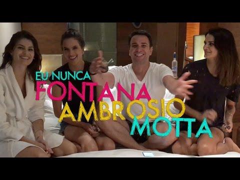 Eu Nunca com Alessandra Ambrosio, Fernanda Motta e Isabeli Fontana   #HotelMazzafera
