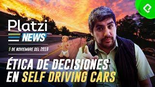 La ética de un coche autónomo y Alexa de Amazon llega a México | | PlatziNews
