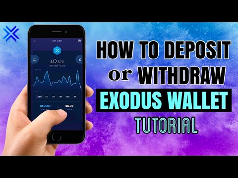 How To DEPOSIT Or WITHDRAW On Your EXODUS WALLET | App Tutorial