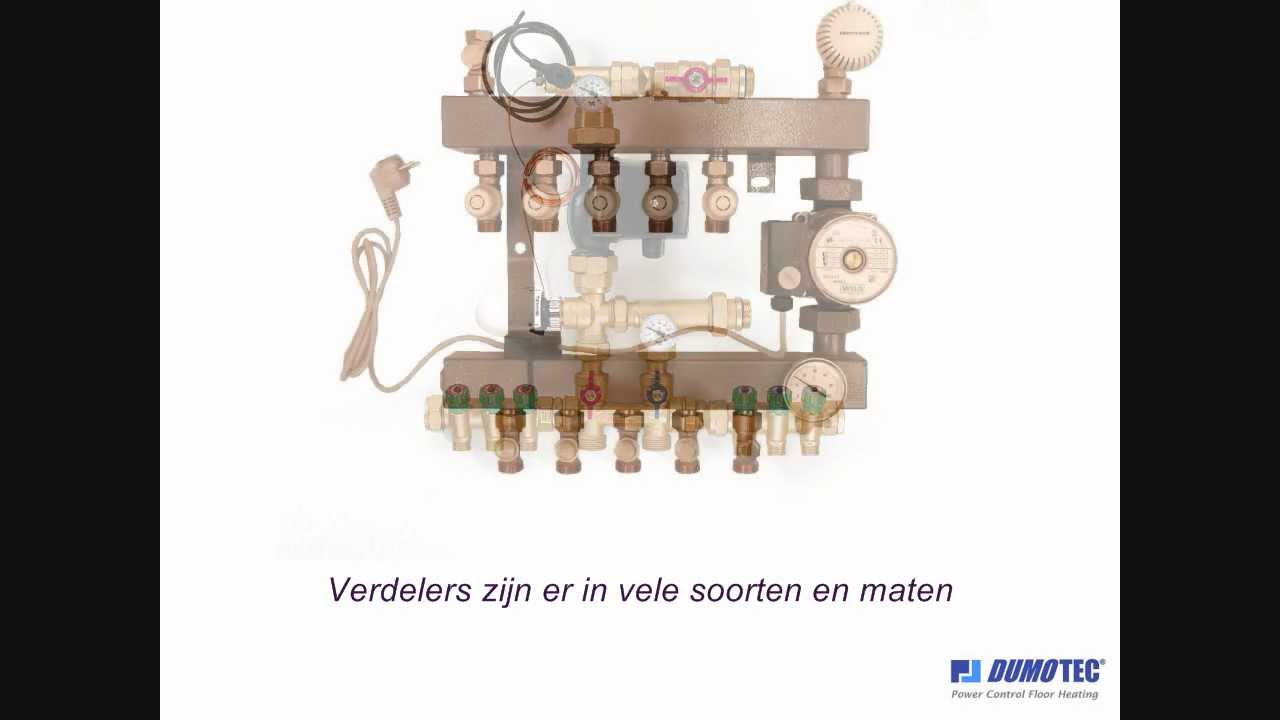 Favoriete Dumotec Vloerverwarming - inregelen vloerverwarming LN45