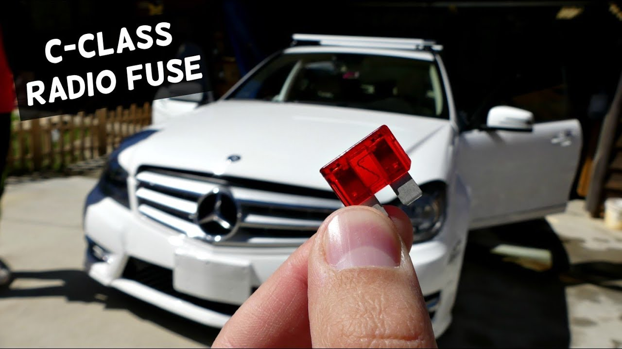 medium resolution of mercedes w204 radio fuse replacement location c250 c300 c350 c220 c260 c200 c280