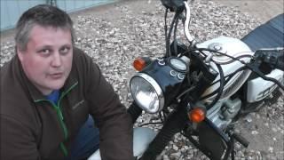 Установка светодиодной LED лампы в фару мотоцикла