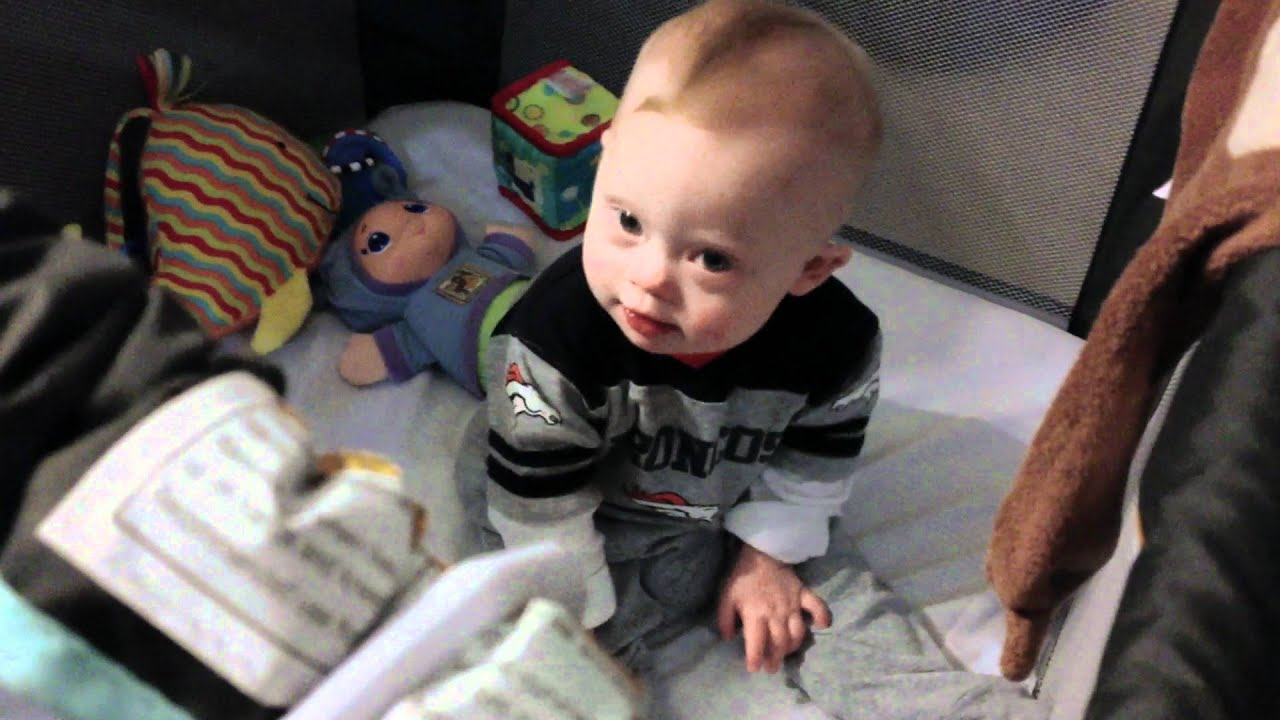 Baby With Down Syndrome Sitting Up For The First Time Huge