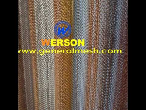 generalmesh fireplace screens, security drapery, Metal Mesh Fabrics ,Architectural Drapery