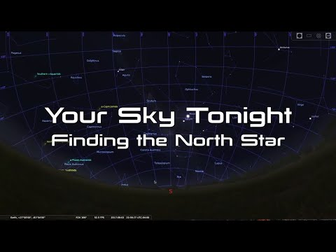 Your Sky Tonight: Easy Way to Find the North Star (Polaris)