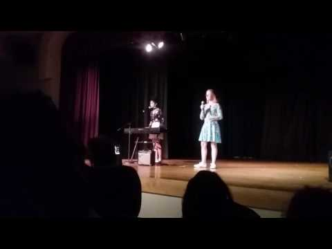 Prairie Mountain School Talent Show 2017, Jordan and Eileen