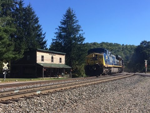 HiDef: CSX vs. The Allegheny Mountains- Freights on the Sand Patch Septemeber 16/17, 2015