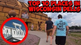 Top 10 Places In Wisconsin Dells | Vlog