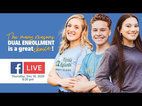 Dual Enrollment at Virginia Highlands Community College