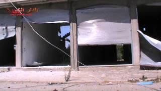 حمص - دار الكبيرة الصورة تتكلم عما حدث بالمحلات التجارية نتيجة قصف النظام 20-8-2013