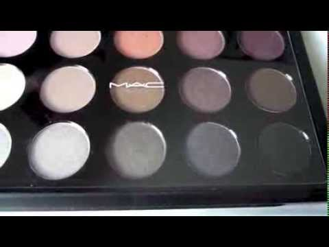 Mac 2014 cool neutral palette 1st impressions review for Cool neutral color palette