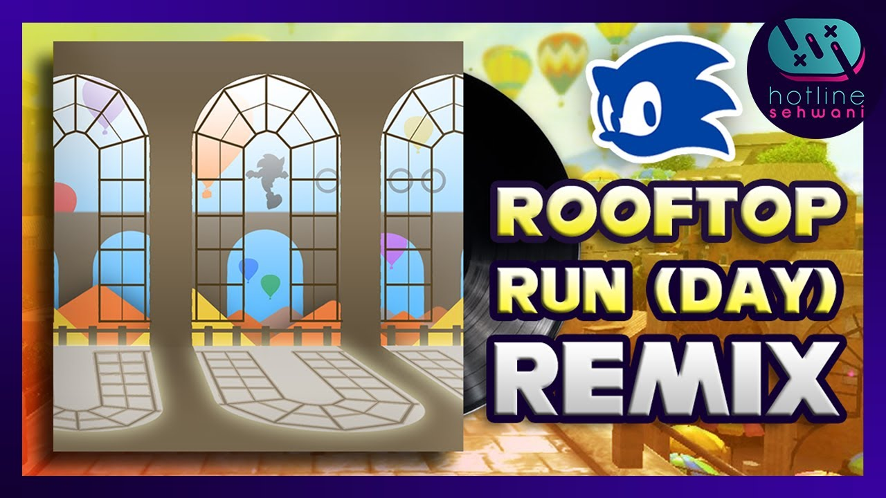 Rooftop Run Day SynthWave【REMIX】Sonic Unleashed - Hotline Sehwani