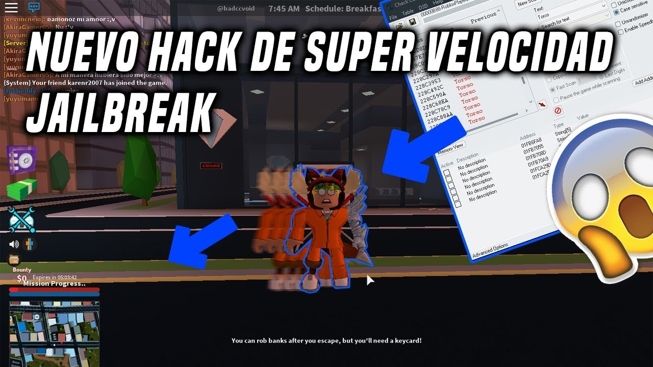 Hack Para Jailbreak En Roblox Hack Para Correr Rapido En Roblox 2018 Irobux Mobile Where To Enter Free Robux Codes Youtube