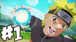Naruto Shippuden Ultimate Ninja Storm Generations Walkthrough Part 1 - Naruto Gameplay