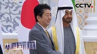 [中国新闻] 安倍访问中东三国 讨论地区局势   CCTV中文国际