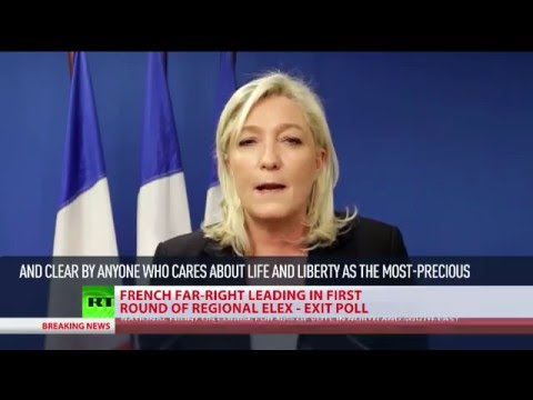 Far Right Gains: National Front winning in some regional elections in France