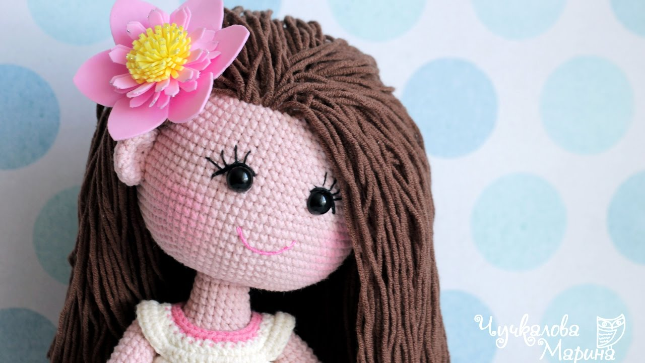 Crochet Doll Hair Tutorial Youtube