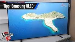 Samsung QE 65Q9F: Die besten Einstellungen