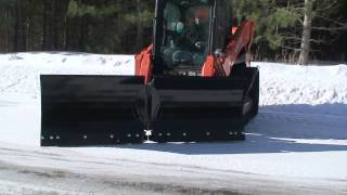 V Plow Snow Blade Skid Steer Attachment | Triple S Attachments