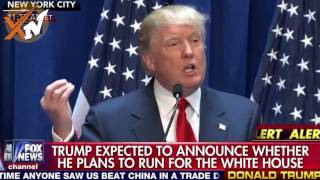 Donald Trump Presidential speech announcement 2016 - Donald Trump Bashes Mexico Obamacare