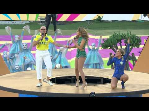 Pitbull feat  Jennifer Lopez & Claudia Leitte   'We Are One Ole Ola' Live @ FIFA World Cup 2014 Open