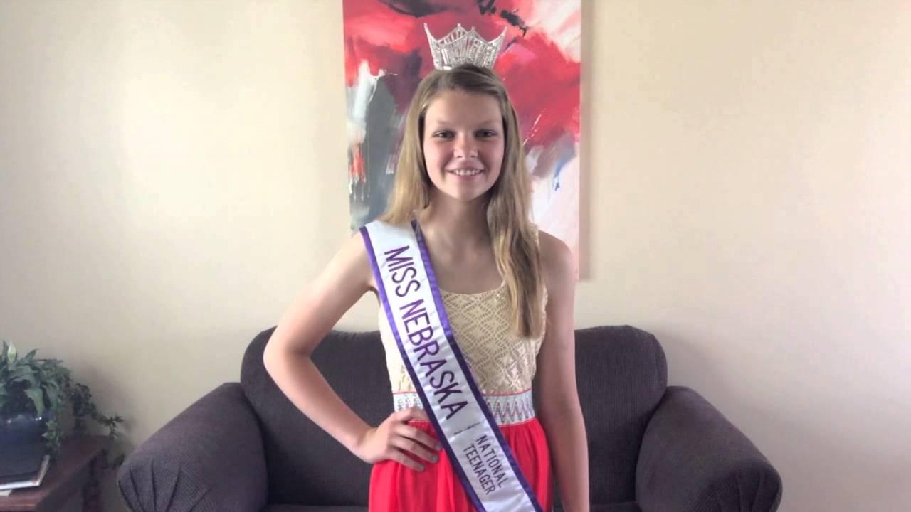 Miss Nebraska Teen USA 2009 Contestants - Pageant