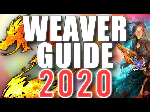 New Weaver Guide 2019  PvE - PvP - WvW  Beginners & Advanced ► Guild Wars 2
