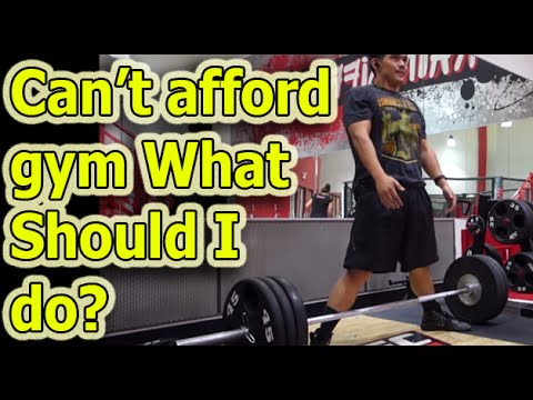 can't afford gym what exercise should i do to lose weight