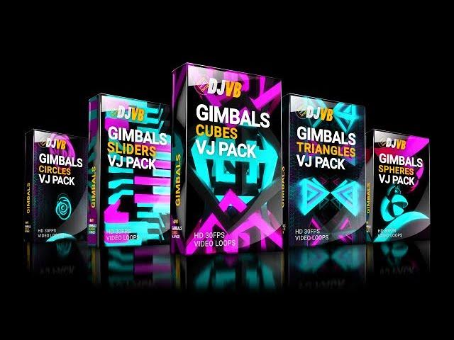 VJ GIMBAL BUNDLE MIX HD